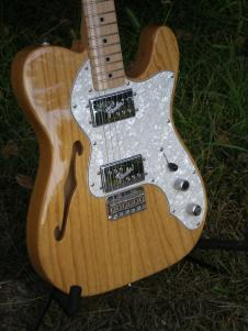 Fender 72 RE-ISSUE TELECASTER 2010 THINLINE image
