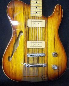 "Custom ""Fender Tele""  SemiHollow image"