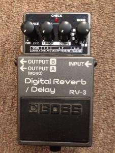 Boss Discontinued RV-3 Pedal image