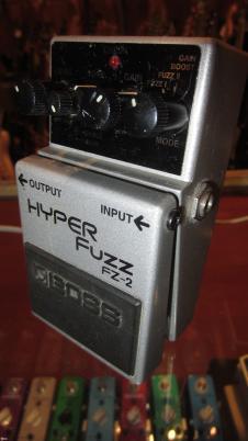 Boss FZ-2 Hyperfuzz Circa 2009 Silver image