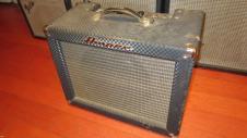 Circa 1964 AMPEG Jet Amplifier Blue Tolex image