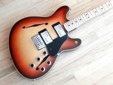 1976 Fender Starcaster Vintage Electric Guitar 100% Original Sunburst w/ohsc image