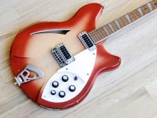 1985 Rickenbacker 360 Vintage Hollowbody Electric Guitar Fireglo w/Original Case image