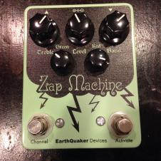 EarthQuaker Devices Zap Machine Surf green image