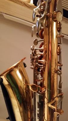 Yamaha YAS-21  stenciled Vito of Japan 1973 Brass lacquer alto Saxophone image