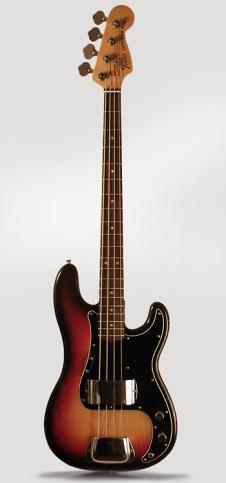 Fender Precision Bass 1980 Sunburst Polyester image