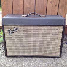 "Original Fender 1 x 12"" Extension Cabinet - 1966 Blackface Deluxe Reverb image"