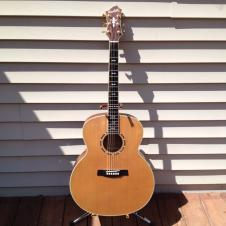 Hagstrom J25M Super Jumbo Acoustic with case image