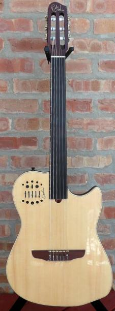 Godin  Fretless Nylon SA 2009 Natural image