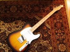 2013 Fender 1958 American Vintage Reissue Telecaster 2 Color Sunburst image