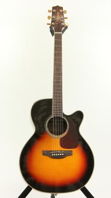 Takamine GN71CE-BSB Gloss Brown Sunburst NEX Electric Acoustic Guitar B Stock H image