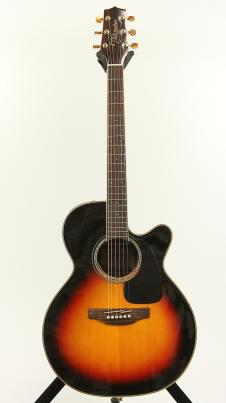 Takamine GN71CE-BSB Gloss Brown Sunburst NEX Electric Acoustic Guitar B Stock F image
