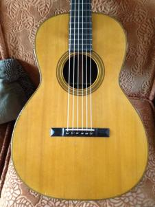 Martin 00-21 1901 - Stunning Brazilian Rosewood (Steel Fitted) image