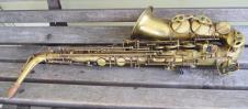 Selmer Series II alto sax 1989 Bare brass image