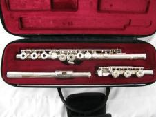 Yamaha YFL-461 Solid Silver Flute w/ Low B image