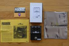 FOXROX CC Hybrid Silicon & Germanium Fuzz Face (Early Serial #102) w/ ALL EXTRAS - EXCELLENT! image