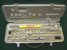 Silver flute image