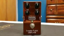 MXR Bass Fuzz Deluxe  Bronze image