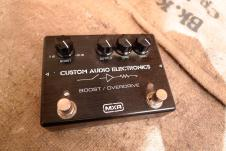 MXR Custom Audio Electronics Boost Overdrive image