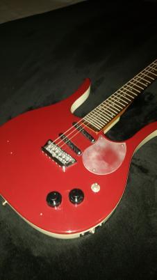 Danelectro Guitaralin 4123 1999 Red image