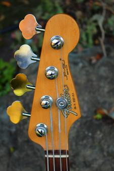 Fender  JP-90 Bass- USA Made  1990 Black image