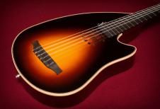 ★ Godin Inuk Ambiance Steel HG ★ Acoustic / Electric ★ Amazing Instrument with Hard case - Dead MINT image