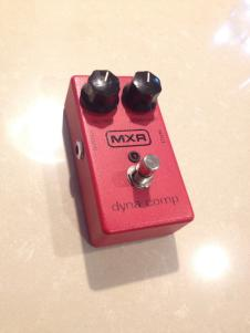 MXR Dyna-Comp late 90s Red image