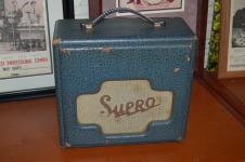 Supro Studio Model 5 Watts Pro Serviced 1957 Blue Tolex image