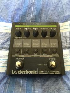 TC Electronic Nova Reverb  Black image