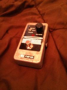 Electro-Harmonix Holy Grail Nano  Grey, Black and Blue image