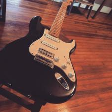 1985 MIJ Stratocaster, Handwired, Jaguar Pickups, FilterTron image