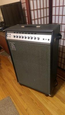AMPEG Jupiter B-22x 1969 Combo Amp with Reverb and Tremolo RARE image