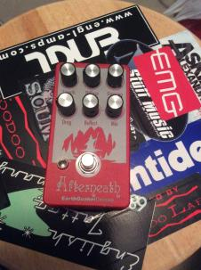 EarthQuaker Devices Afterneath  Red/Silver image