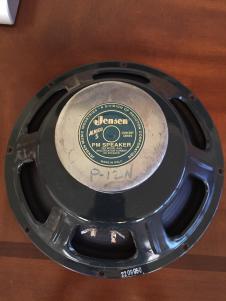 "Jensen P12n 8ohm 12"" alnico Speaker 50 watt image"