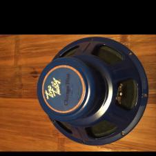"Tone Tubby Chicago Blue Alnico 8 Ohm 12"" Speaker image"