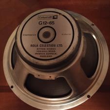 """Celestion G12m65 G12M 65 Vintage 8ohm 12"""" speaker image"""