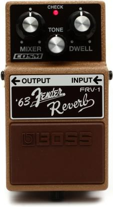 Boss '63 Boss Fender Reverb 2014 Grey image