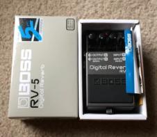 Boss RV-5 Digital Reverb image
