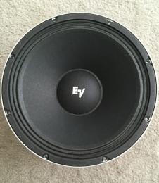 Electro Voice EV 12L 100 watt speakers 2015 image