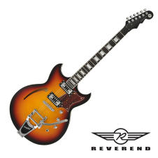 Reverend Tricky Gomez Electric Guitar - 3 Tone Burst image