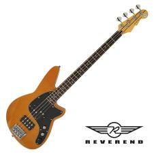 Reverend Mercalli 4 Bass - Violin Brown image
