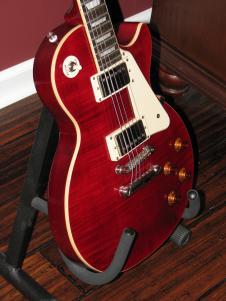 Gibson Epiphone Les Paul Standard Pro  Wine Red w/ NEW Hardshell Case image