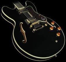 Epiphone Sheraton II Semi-Hollow Body Electric Guitar Rosewood FB Ebony image