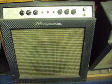 Ampeg Vintage Reverberocket II guitar amp1960s  Blue Diamond image