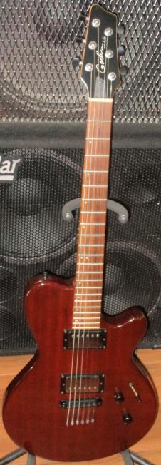 Godin LG HB 2004 Trans Red image