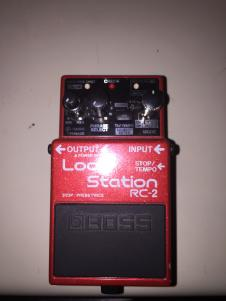BOSS Loop Station RC-2 Rarely Used image