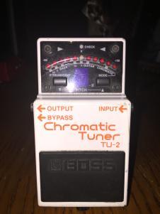 BOSS Chromatic Tuner TU-2 image