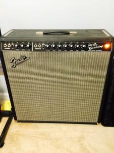 Fender  '65 Reissue Super Reverb 2005 Black image