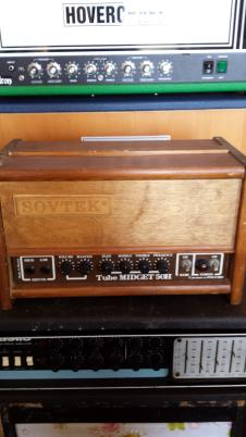 Sovtek Midget 50  Natural Wood image
