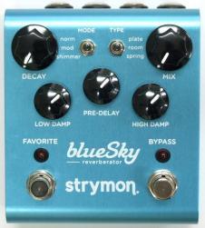 Strymon blueSky Reverberator Pedal w/EU type adapter image